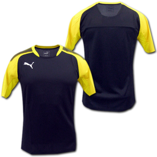 save off e70ac a2d8e  PUMA sweat shirt (black / yellow)