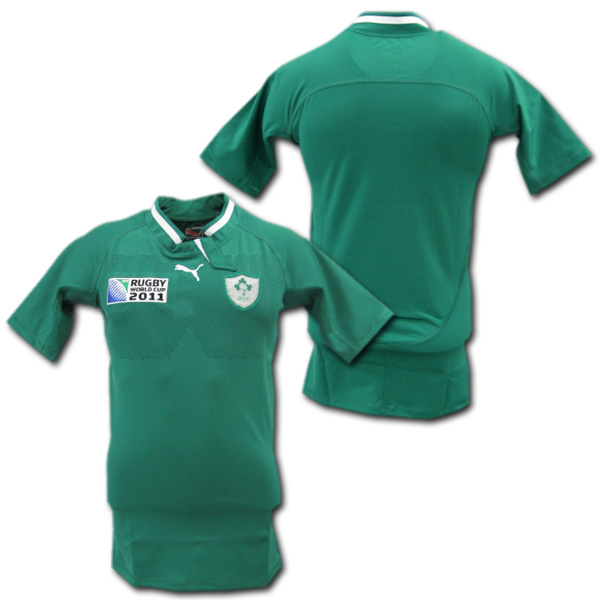 best service 68041 030e4 Rugby World Cup 2011-PUMA player for Ireland national team home (green)