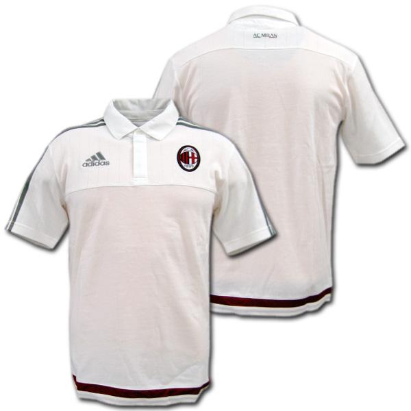 2015 2016 AC Milan Adidas Training Jersey (White):