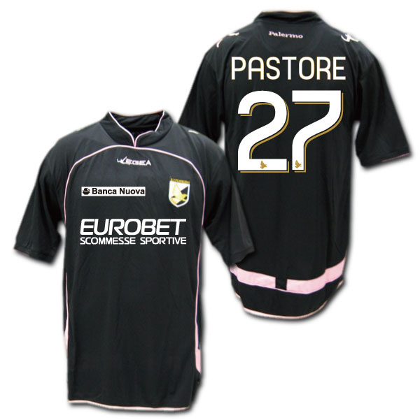 4743a302350 O.K.A.Football  Palermo-10   11 third-(black)   27 PASTORE Javier Pastore- LEGEA