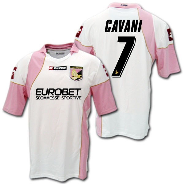 new style 7e07e 03247 And Palermo 08 / 09 away (white) # 7 CAVANI edinson CAVANI-Lotto