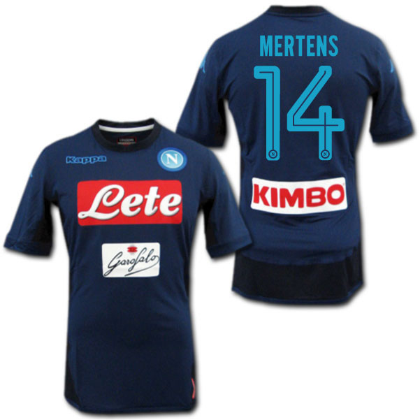 c85eab73a ... home soccer football jersey sportwear kit in blue a04a1 7b18e  canada  product made in naples 17 18 third navy 14 mertens dries mertens rain  jacket ff8cd