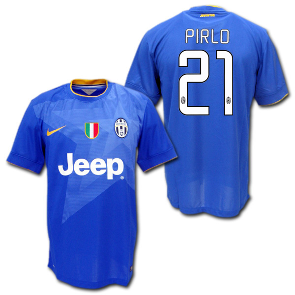 b044af8b4 O.K.A.Football  Product made by Juventus 14 15 away (blue)  21 PIRLO ...