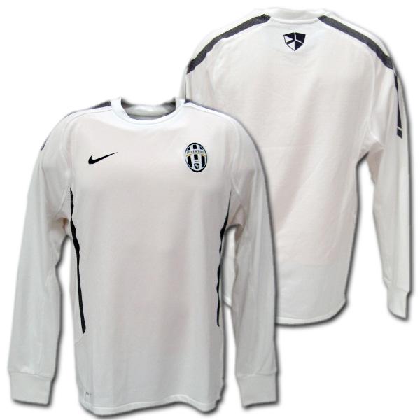 half off fd46f 55395   2011 player specifications Juventus training sweat shirt (white) back  raising type NIKE