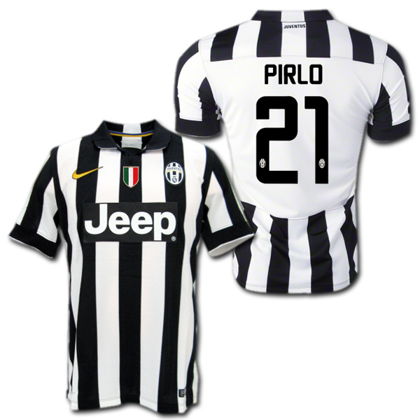 023bff1426d O.K.A.Football  Juventus 14   15 (black and white)   21 PIRLO Andrea ...