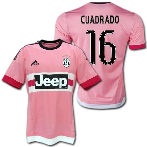 online retailer 0d706 63dd7 Juventus away 15/16 (Pink) # 16 CUADRADO, Juan Cuadrado Nike