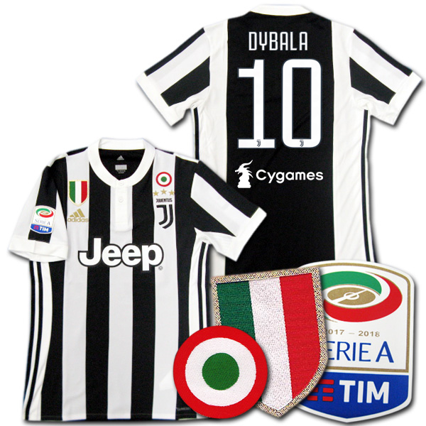 560821b74 O.K.A.Football  Juventus 17 18 home   10 DYBALA D rose adidas ...