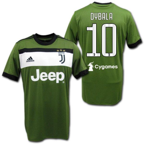 official photos 0643b 705a1 Juventus 17/18 third (khaki) # 10 DYBALA Paulo Dybala adidas