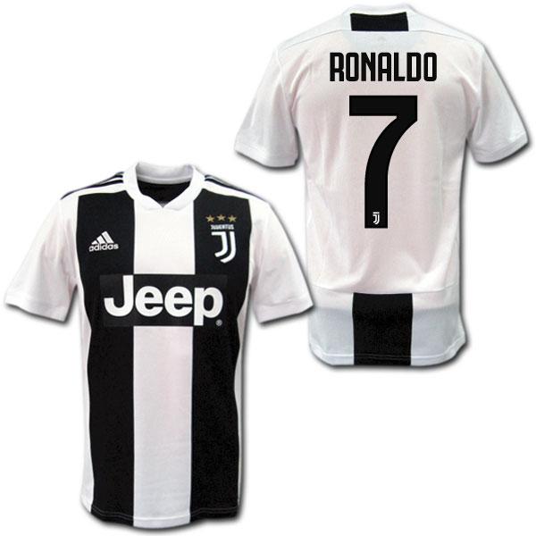 18/19 ユベントス ホーム(白黒) #7 RONALDO クリスティアーノ・ロナウド adidas