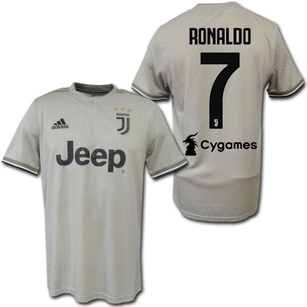 newest 690f2 8bd53 18/19 Juventus away (beige) # 7 RONALDO Cristiano Ronaldo adidas