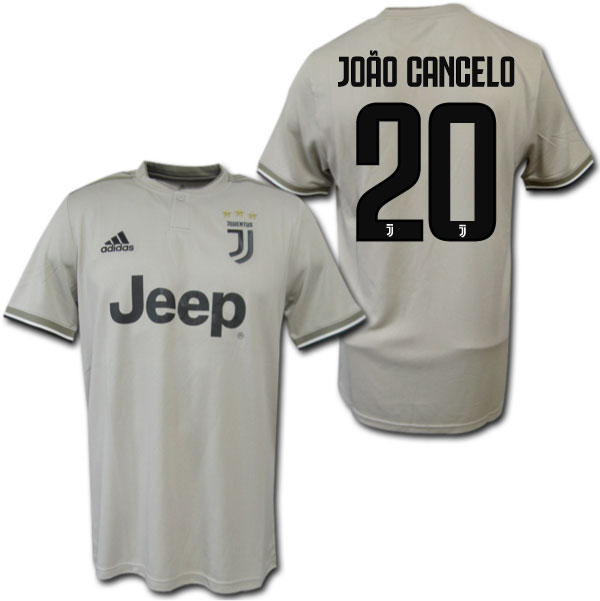 889052be7 18 19 Juventus away (beige)   20 JOAO CANCELO Joan perception cello adidas  ...