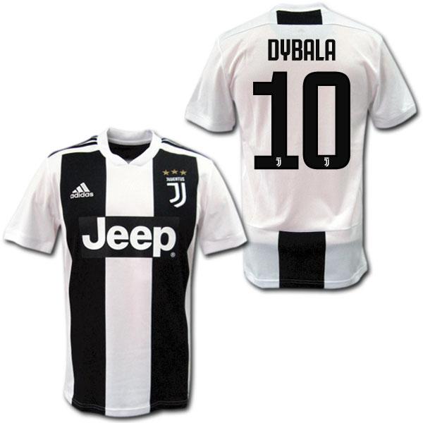 18/19 ユベントス ホーム(白黒) #10 DYBALA パウロ・ディバラ adidas