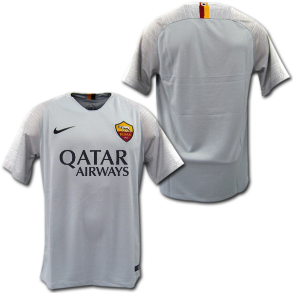 official photos a1287 e1367 Product made by AS Roma 18/19 away (gray) Nike