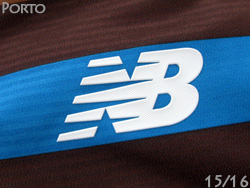 FC Porto away 15/16 (Brown) made by new balance