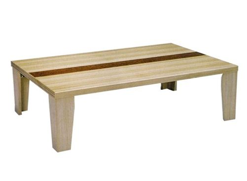 【OKAYA】超軽量折脚座卓(フロアテーブル) カルーン 幅135cm【送料無料】【お取り寄せ品】