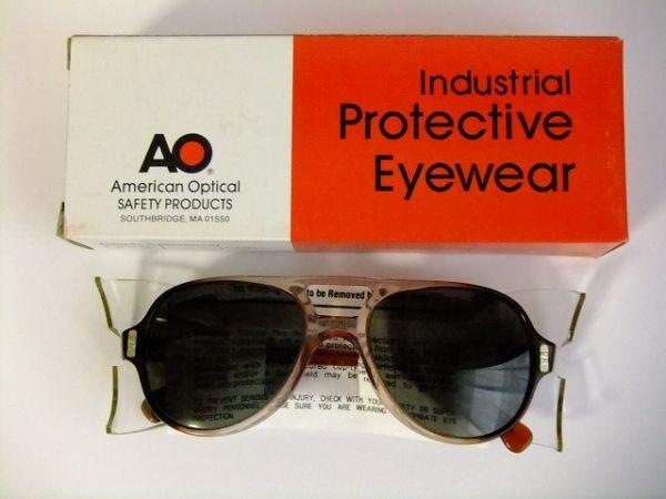 6b462839d8d7 Dead stock vintage AO American optical teardrop goggles glasses glasses 54  □ 19