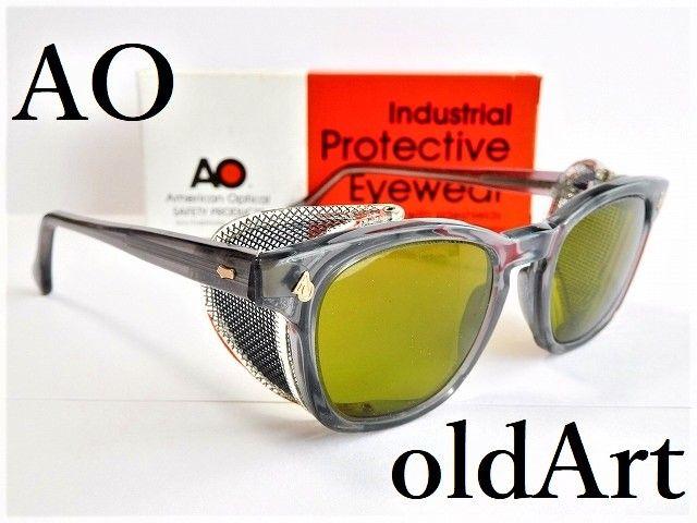 箱付きデッドストックヴィンテージAOアメリカンオプティカルウェリントンサングラス眼鏡46□20AmericanOptical【AO-12018】【送料無料】
