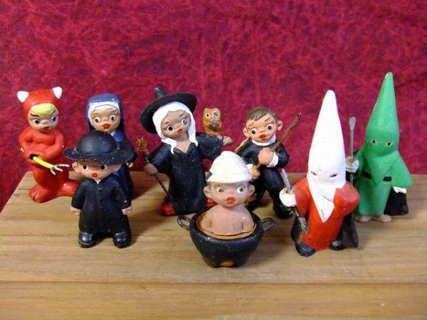 アンティークビンテージKKK(Ku Klux Klan)クークラックスクラン人形置物【M-4765】【中古】【送料無料】