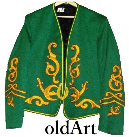 貴重ビンテージフリーメイソンシュライナーUSAfruhauf社製上質刺繍ジャケット衣装【M-10362】【中古】【送料無料】