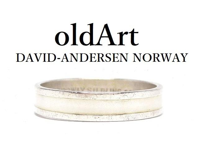 1940s 50s NORWAY デザイナー デビッド アンダーセン ジュエリー アクセサリー プレゼントにも 北欧 ノルウェー製 1940 50年代 Andersen エナメル 装飾 信頼 13号 中古 指輪 David 七宝焼 送料無料 シルバー 好評 M-14480 リング 銀製