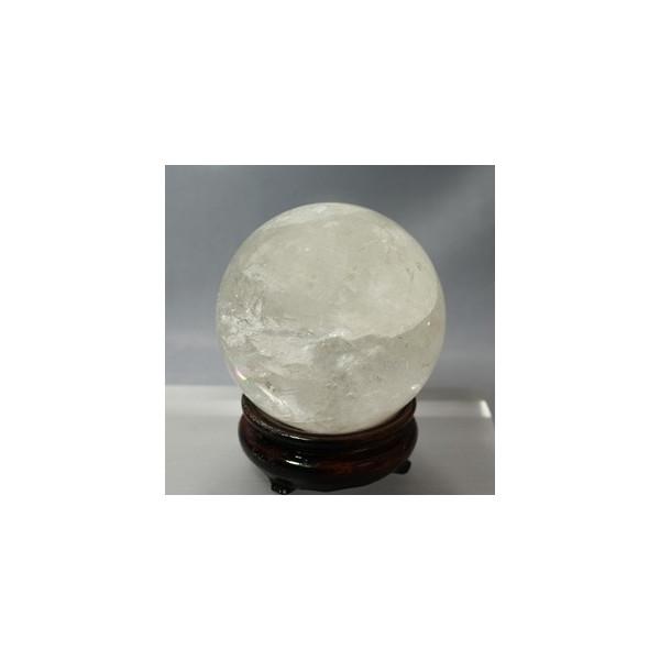原石 水晶レインポー入り 86mm