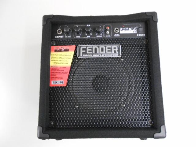 新品 店頭展示品 Fender(フェンダー)USA ベースアンプ RUMBLE15(旧製品)