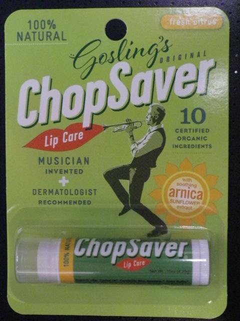 金管プレーヤーの唇を保護 ChopSaver チョップセイバー
