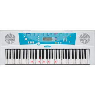 新品 YAMAHA(ヤマハ) ポータブルキーボード EZ-J220 光る鍵盤モデル!