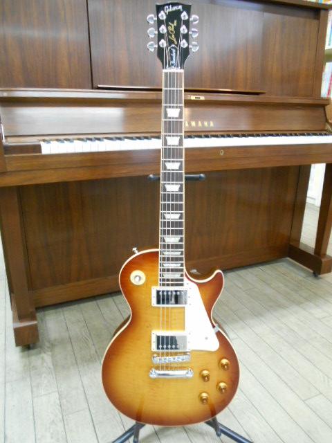 新品 店頭展示品 Gibson(ギブソン)エレキギター Les Paul Standard(レスポール・スタンダード)2013年モデル HB(ハニーバースト) ハードケース付!