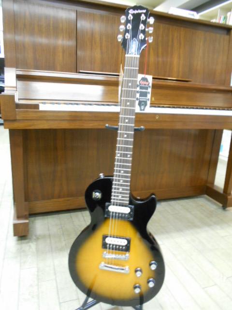 新品 店頭展示品 Epiphone(エピフォン) エレキギター Les Paul Studio LT VS(ビンテージ・サンバースト) ソフトケース付!