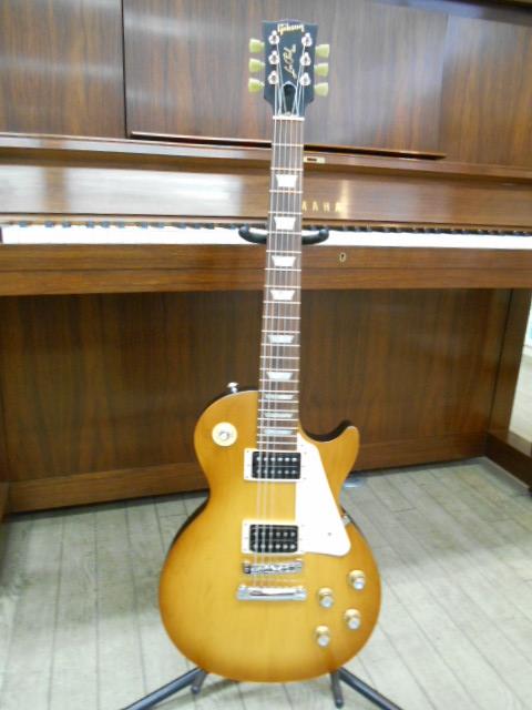 新品 店頭展示品 Gibson(ギブソン)エレキギター Les Paul 50s Tribute 2016(Satin Honeyburst Dark Back) Gibsonロゴ ギグケース付!