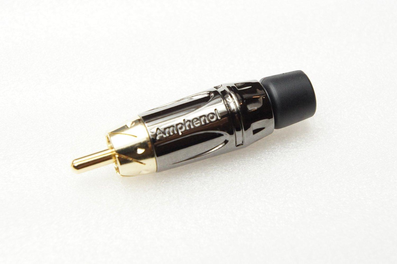 AMPHENOL アンフェノール 贈答 RCAプラグ 正規品送料無料 ACPL-CBK
