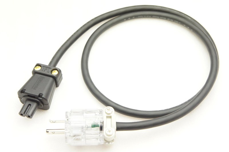 塩田電線 C-1011 P-23 メガネ型電源ケーブル 10m (WF5018-FI8NG)
