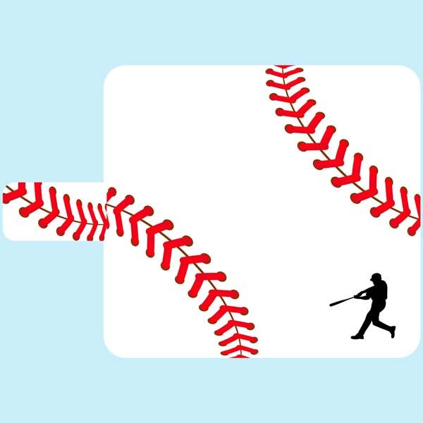 iPod touch 6 iPod touch 5 手帳型 ケース カバー 野球 ボール スポーツ ベースボール アイポッド タッチ 第5世代 第6世代