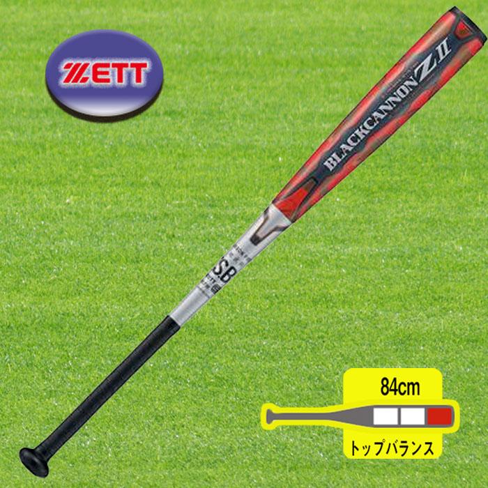 ゼット 野球 一般軟式FRP製バット BLACKCANNON Z BCT35914-1364