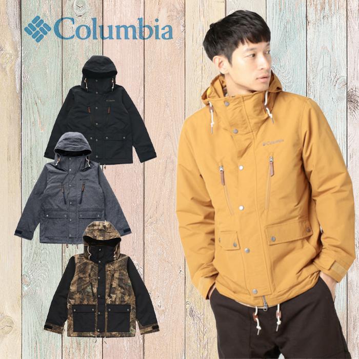 コロンビア Columbia ビーバークリークジャケット メンズ アウトドアウェア PM5689