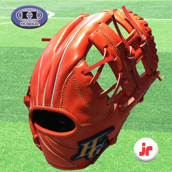 ハイゴールド Hi-ゴールド 野球 少年軟式グラブ 右投用 ROOKIESAS RKG-3002