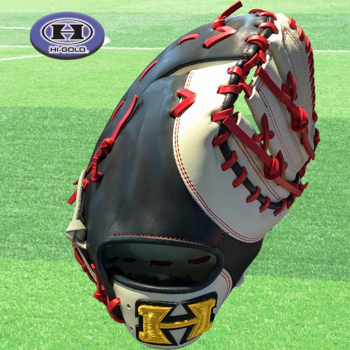 ハイゴールド Hi-GOLD ソフトボール ファーストミット キャッチャーミット 一塁手 捕手 右投用 ベーシックカスタマー BSG-87F