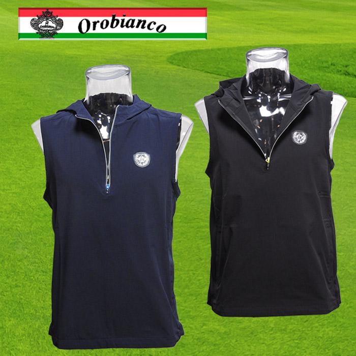 Orobianco フード付きプルオーバーベス  45013-106