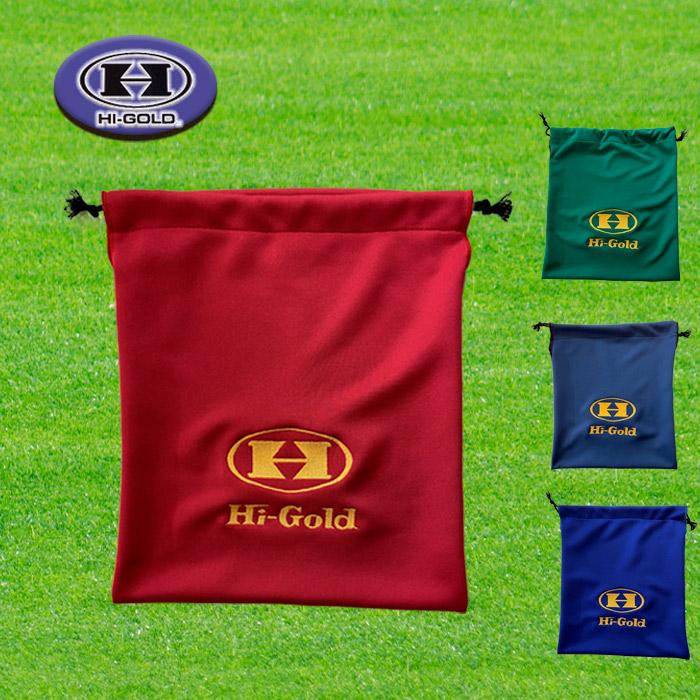 Hi-GOLD 通販 往復送料無料 激安 ハイゴールド グラブ袋 シューズ袋 マルチ袋 野球 ニット素材 HB-ES ソフト