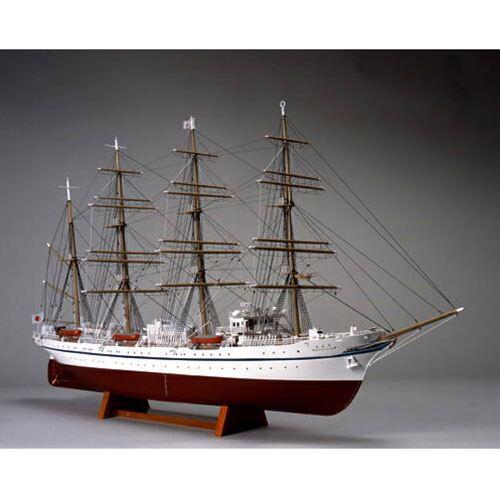 【送料無料!!】ウッディジョー 木製帆船模型 1/160 日本丸 帆なし