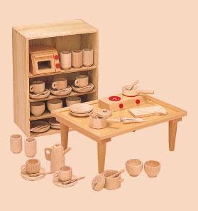 【送料無料】 抗菌 ままごとあそび テーブルセット 8011-5 河合楽器 日本製 国産
