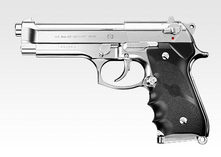 【送料無料】 東京マルイ ガスブローバック M92F クロームステンレス 18才以上用