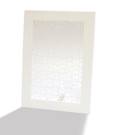佐川急便の発送で送料無料 沖縄県 離島を除く 格安SALEスタート 送料無料 ジグソーパズル プリズムプチ専用木製フレーム プリズムアート Petit FRAME 内祝い ホワイト 10060-8002