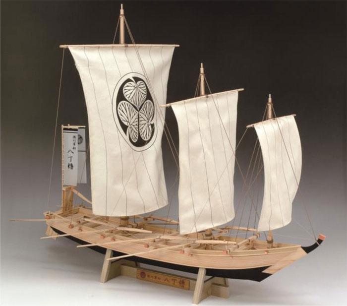 【送料無料】 ウッディジョー 木製帆船模型 1/24 八丁櫓