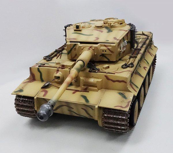 【送料無料】 電動R/C 2.4GHz 1/16 RC対戦戦車 タイガーI  (赤外線バトルシステム付)