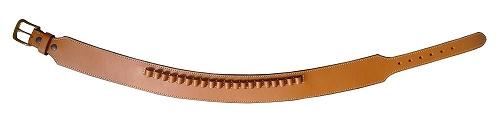 【送料無料】 ウエスタンガンベルト 牛革製 ブラウン 060-L-BR