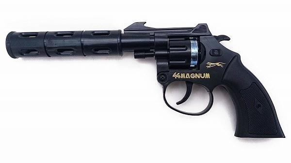 火薬銃 44マグナム オートマティック 超定番 8連発 送料無料 音追いピストル 日本製 無料サンプルOK