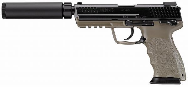 【送料無料】 東京マルイ ガスブローバック HK45 タクティカル