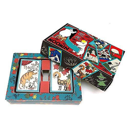 送料無料 輸入 ムーミン 花札 贈呈 パーティーゲーム カードゲーム